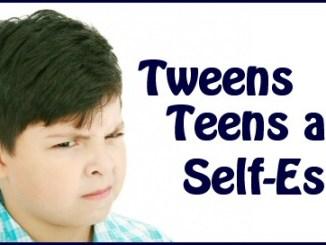 tweens teens and self-esteem
