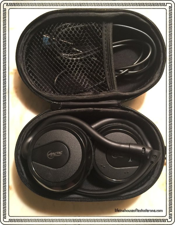 Arctic P324 Bluetooth Headset Review from Life in a House of Testosterone