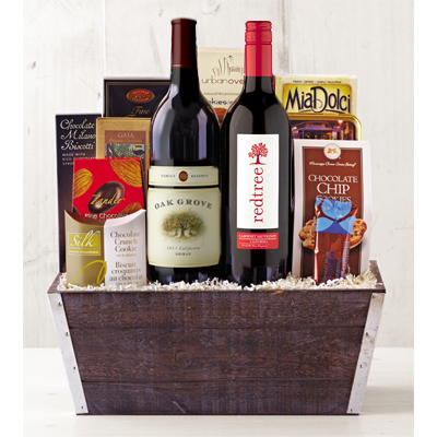 Death by Chocolate Gift Basket - Wine of the Month Club - $88.00