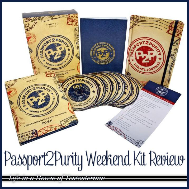 Passport2Purity Weekend Kit Review by Life in a House of Testosterone