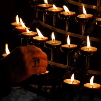 Candle Lighting by Petr Kratochvil
