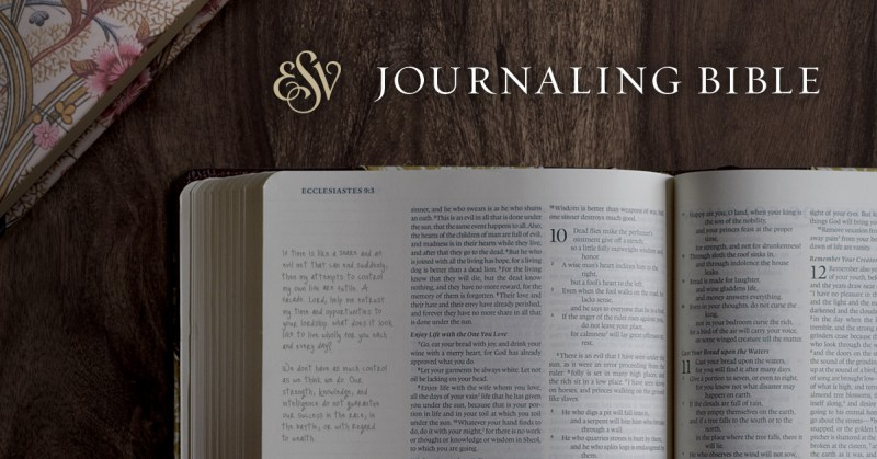 ESV #JournalingBible Giveaway from #Flyby