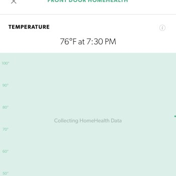 Temperature - Canary HomeHealth Technology