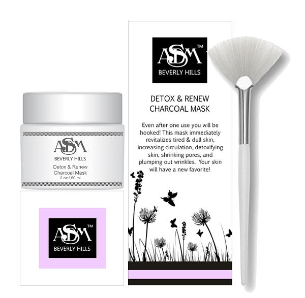 ASDM Beverly Hills Detox & Renew Charcoal Mask Review