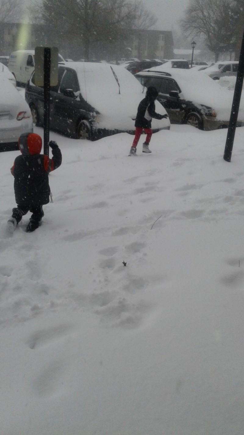 Chasing Thru the Snow