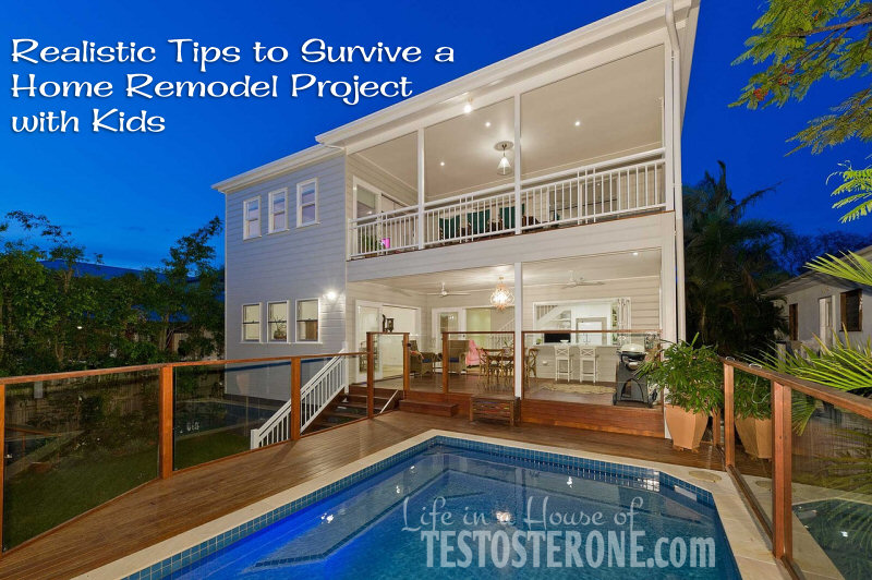 Realistic Tips to Survive a Home Remodel Project with Kids
