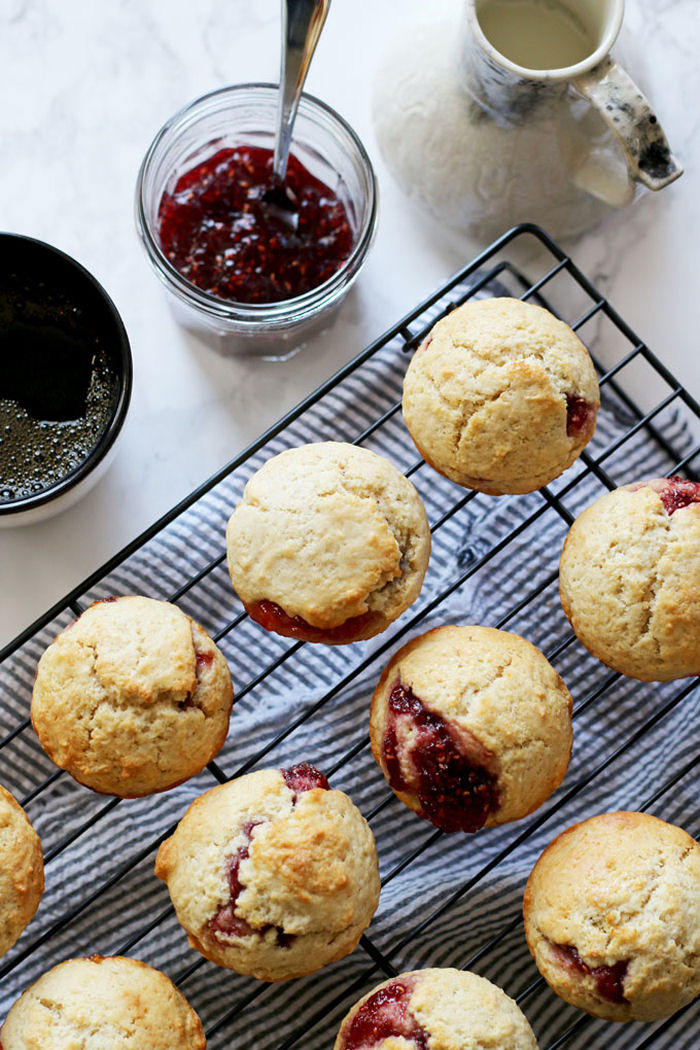Week 85 Sunday's Best Featured Post Easy Muffins Filled with Jam from Honey and Birch