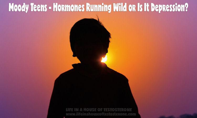 Moody Teens - Hormones Running Wild or Is It Depression?
