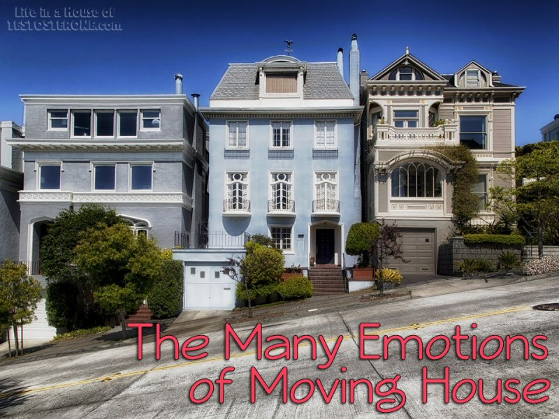 The Many Emotions Of Moving House