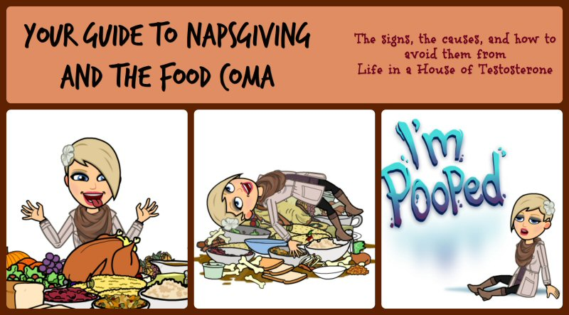 Your Guide to Napsgiving and The Food Coma from Life in a House of Testosterone