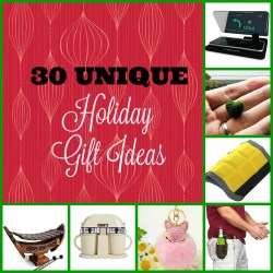 30 Unique Holiday Gift Ideas