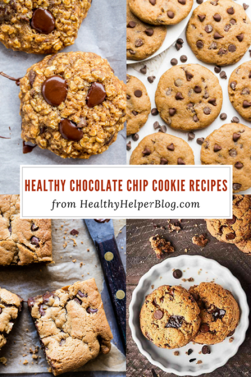 Week 139 Sunday's Best Featured Post - Healthy Chocolate Chip Recipes from Healthy Helper Blog