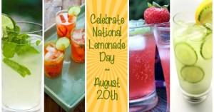Celebrate National Lemonade Day on August 20th