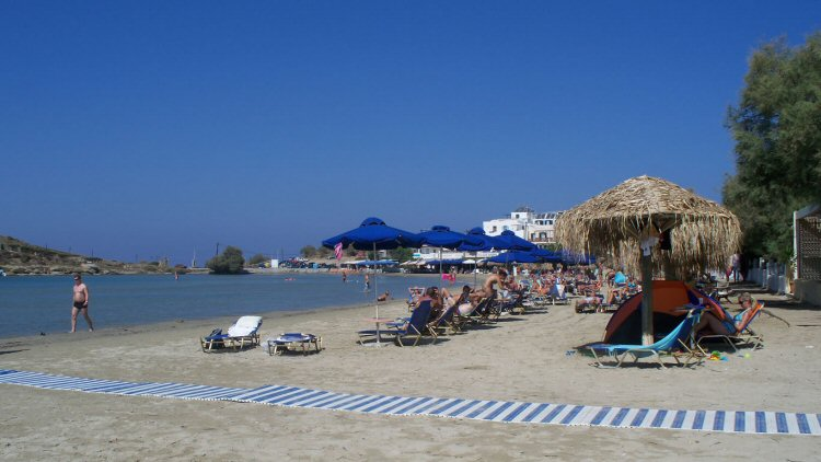 St. Georgios Beach - Naxos Island, Greece -- Top 8 Family Vacation Destinations