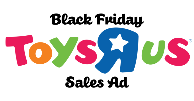 Black Friday 2017 – Toys R Us Toy List