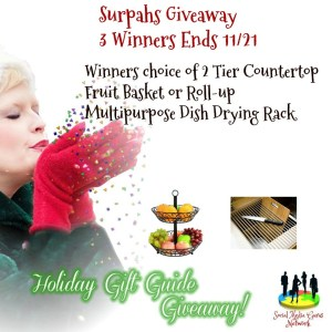 Surpahs Giveaway – 3 Winners – SMGN Holiday Gift Guide 2017