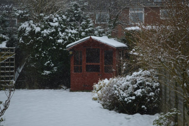 Home DIY Projects You Could Try This Winter - Build a Wendy House for the Kids