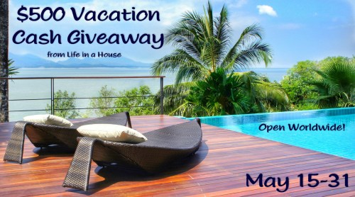 $500 Vacation Cash Giveaway Event Sign-Up