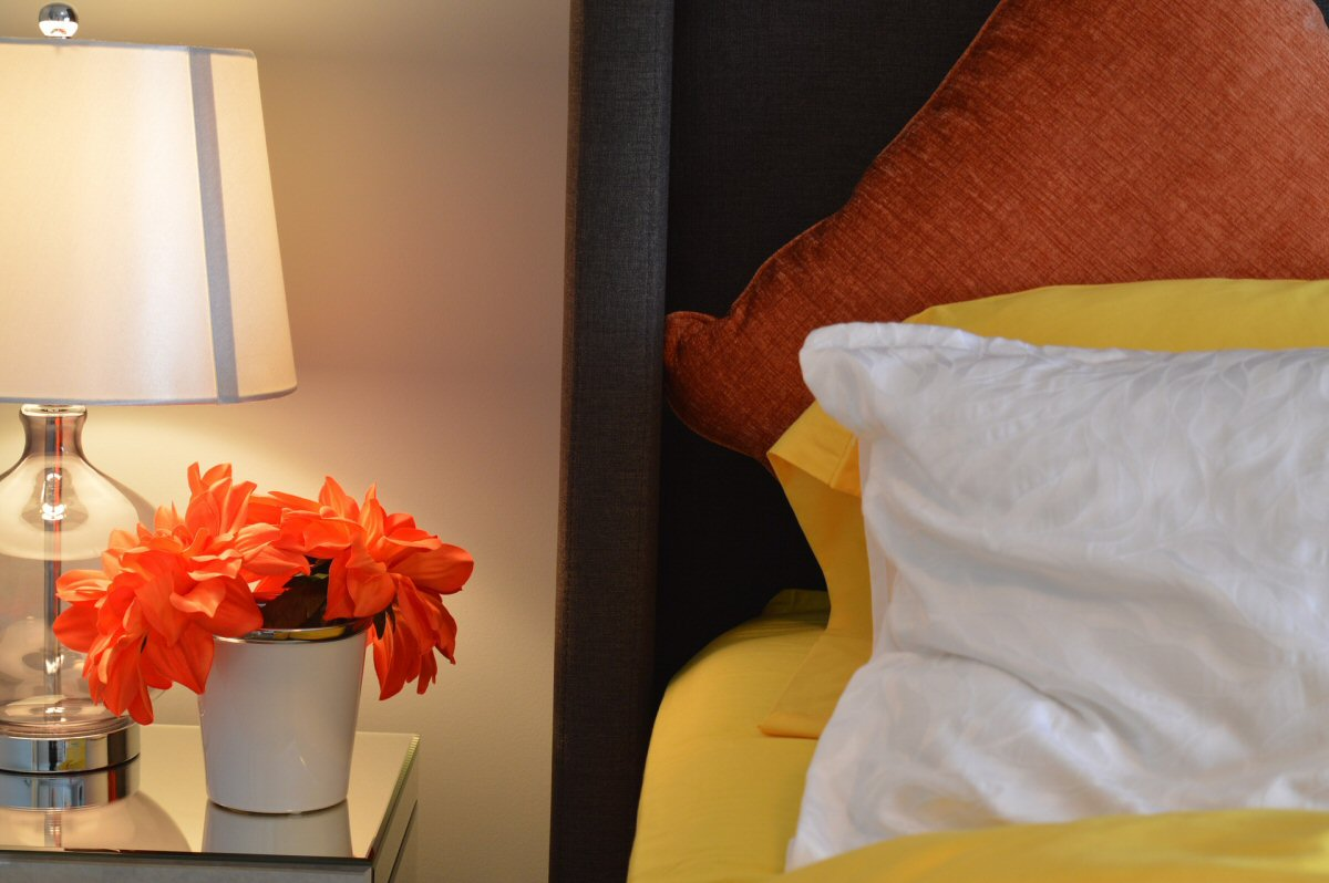 Spare Bedroom - Make It Glam For Guests - Bedside Table