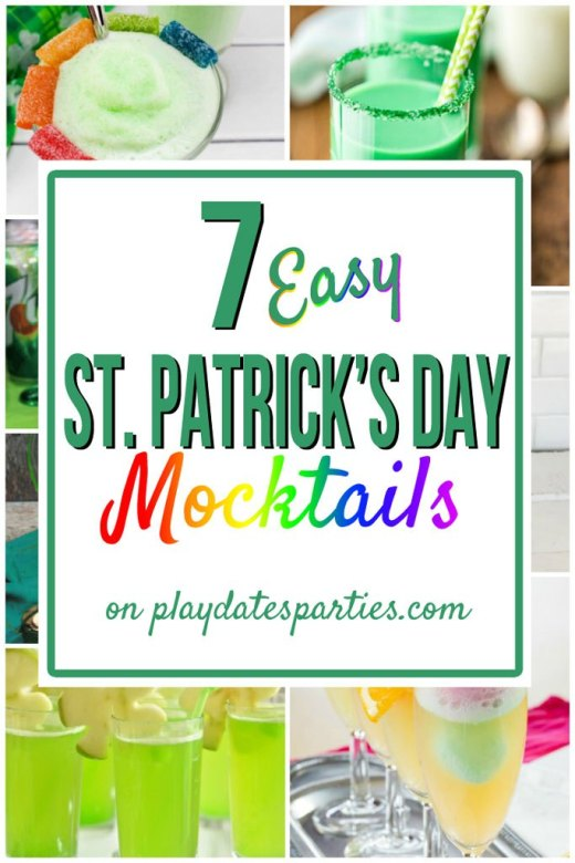 Week 163 7 Easy St. Patrick's Day Mocktails from Play Dates to Parties