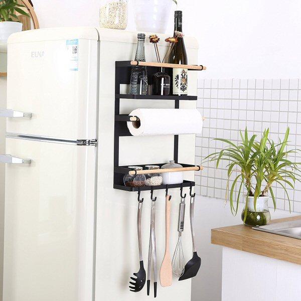 Kitchen Rack Fridge Magnetic Organizer