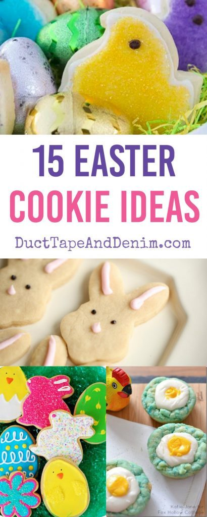 Week 165 15 Easter Cookie Ideas from Duct Tape and Denim