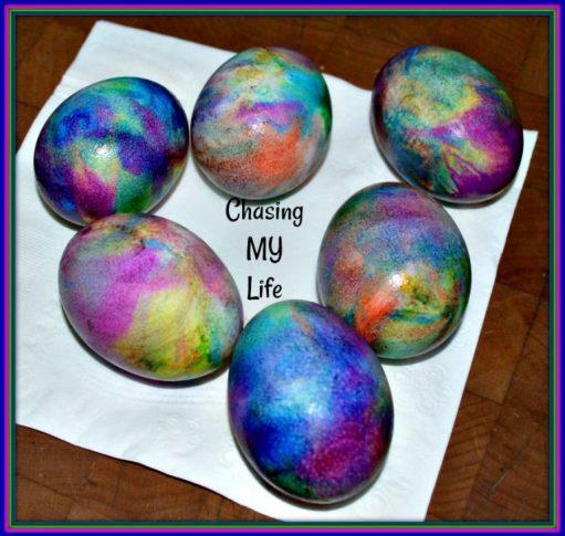 Week 166 Tie Dye Easter Eggs from Chasing My Life