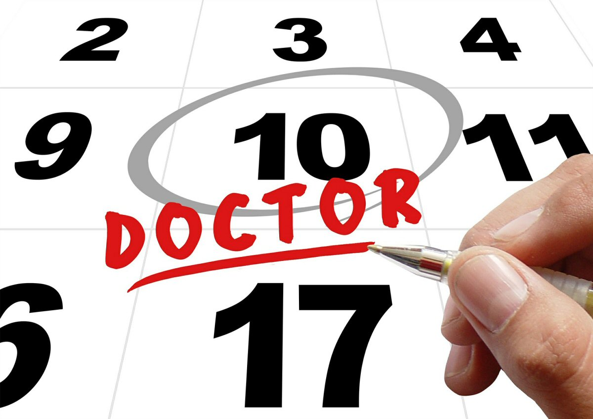 What Does It Take to Live a Long and Happy Life - Go To All Your Doctor Appointments