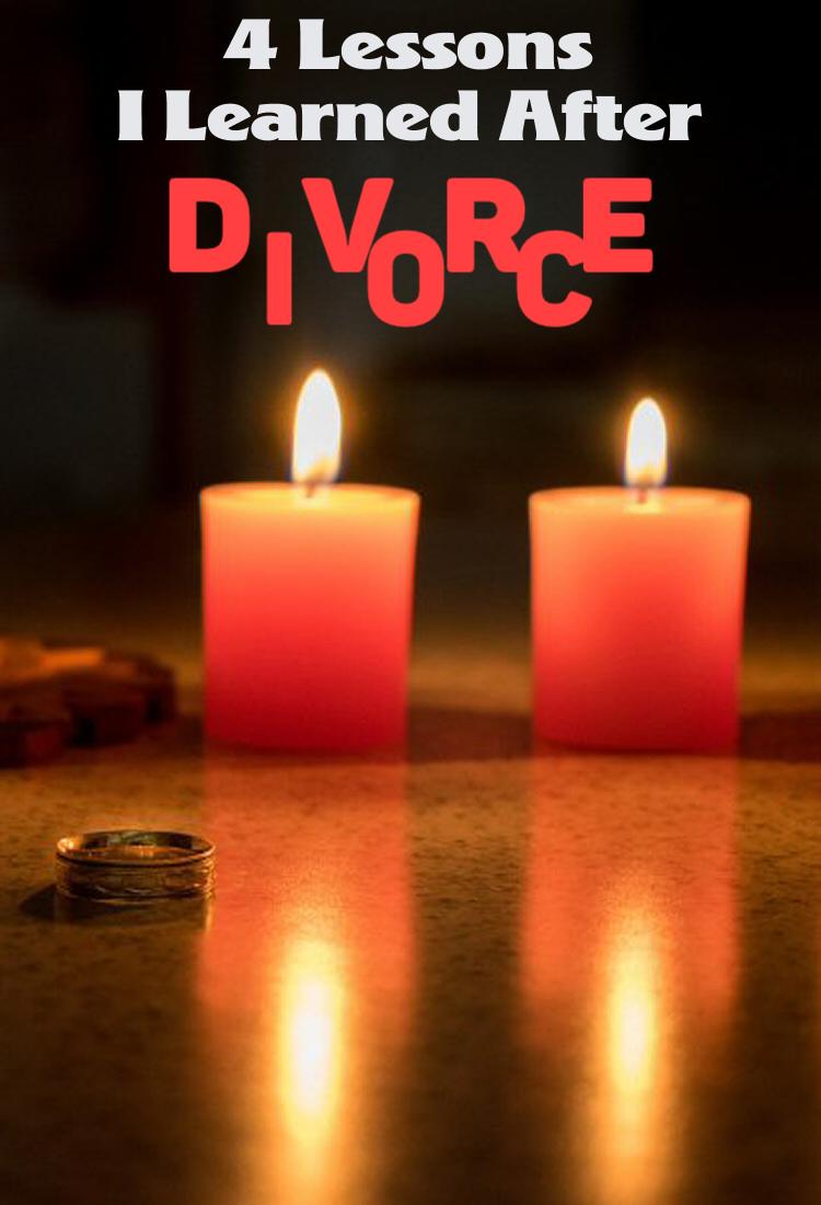 4 Lessons I Learned After Divorce