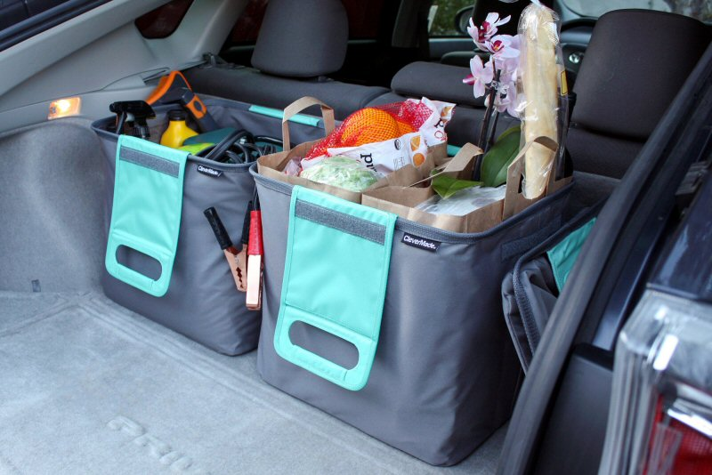 CleverMade TrunkCaddy #CarAccessories #FamilyGifts #VehicleStorage #Organization