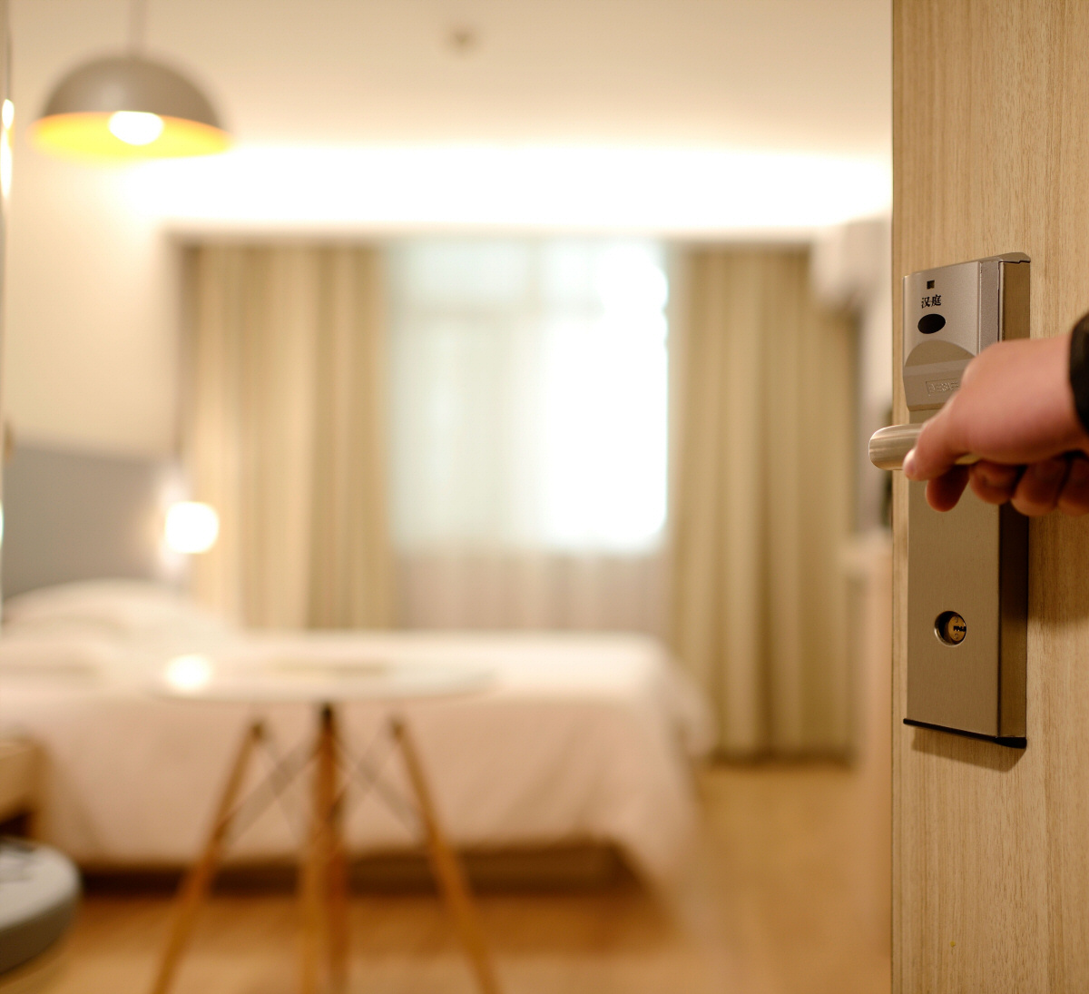 feature – hotel room