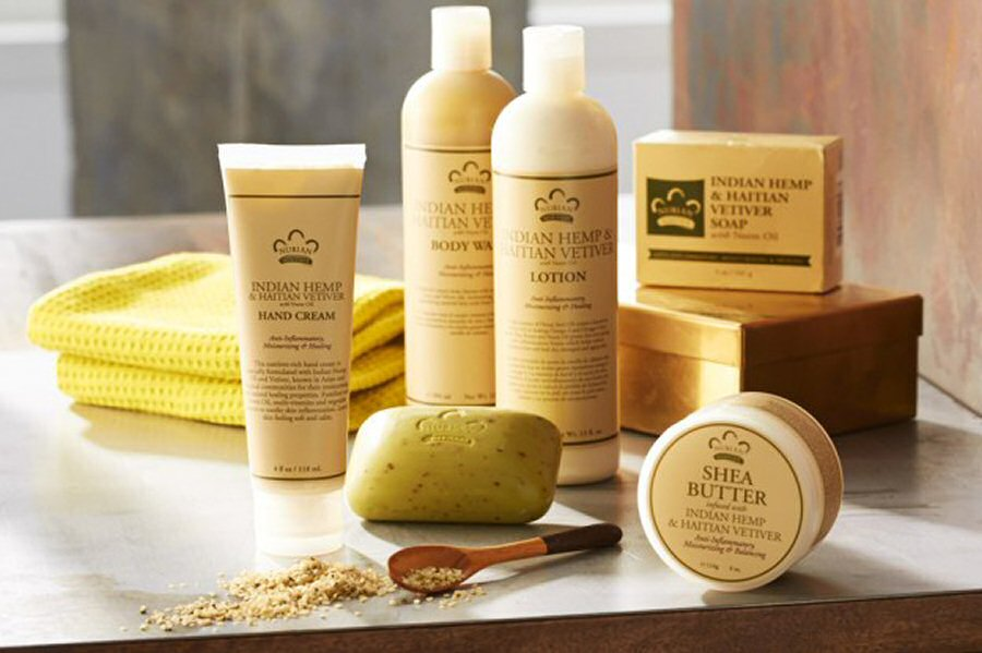 Nubian Heritage Bath and Body Collection - Indian Hemp and Haitian Vetiver with Neem Oil