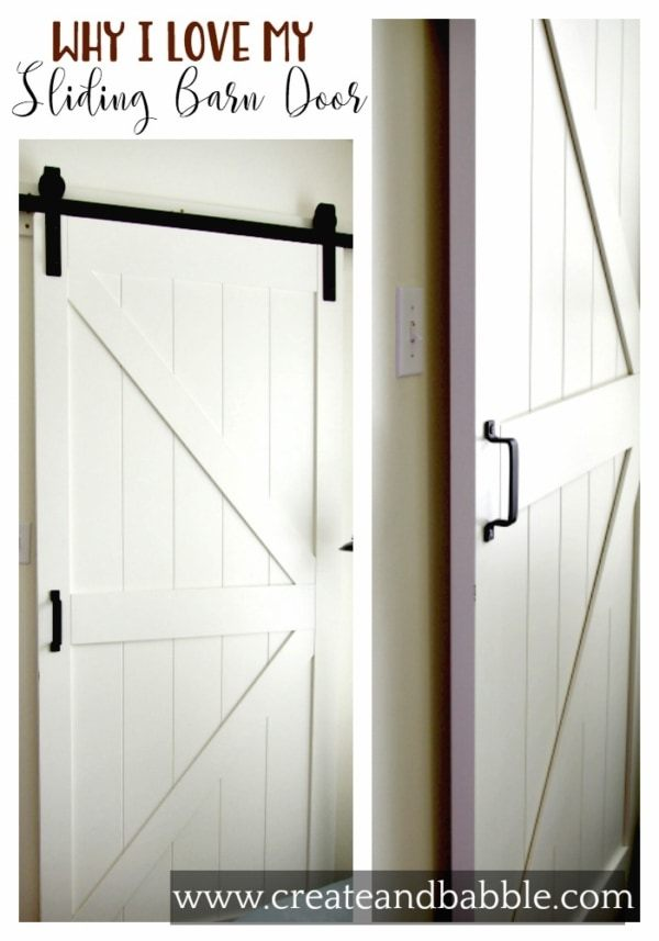 Week 178 - Why I Love My Sliding Barn Door from Create and Babble
