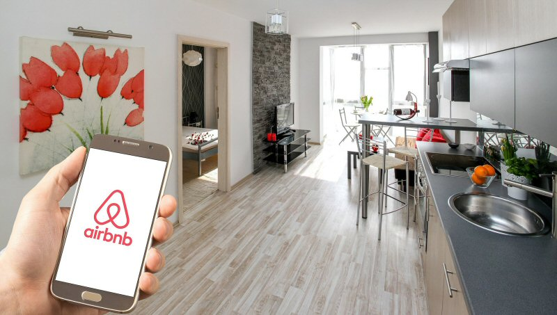 rent out your home via airbnb