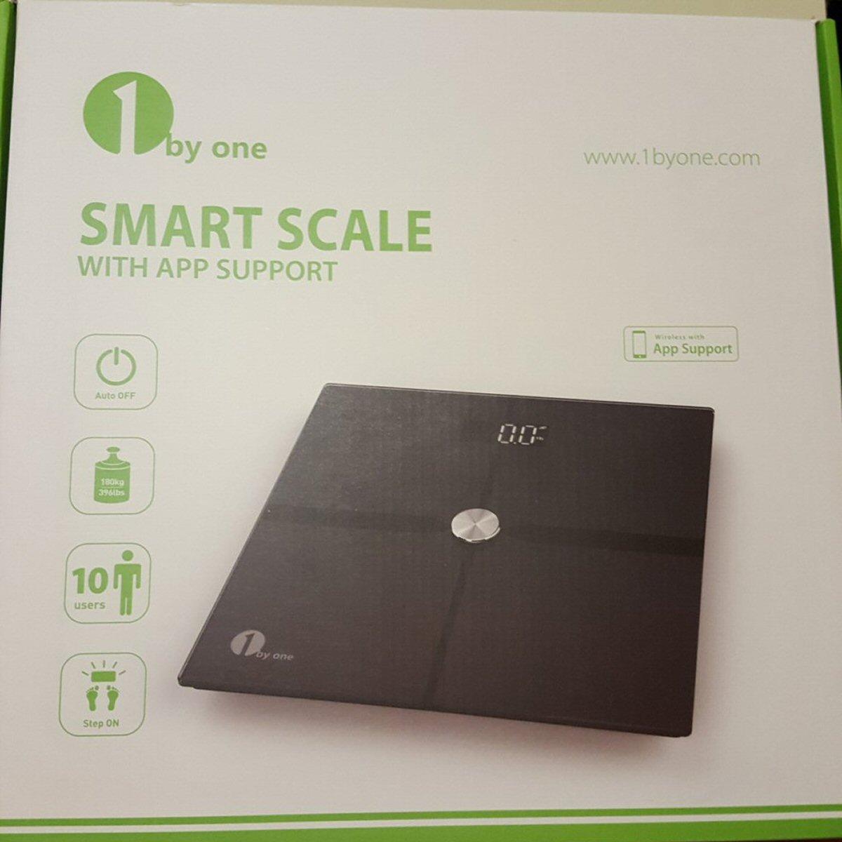 1byone Digital Bluetooth Scale