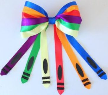 Week 189 - Crayon Bow from Bowdabra Blog