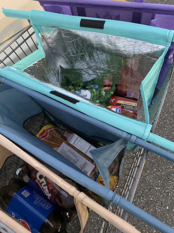 Small Grocery Runs or Weekly Hauls - Lotus Trolley Bag Handles It All