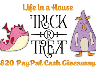 Life in a House $20 PayPal Cash Giveaway