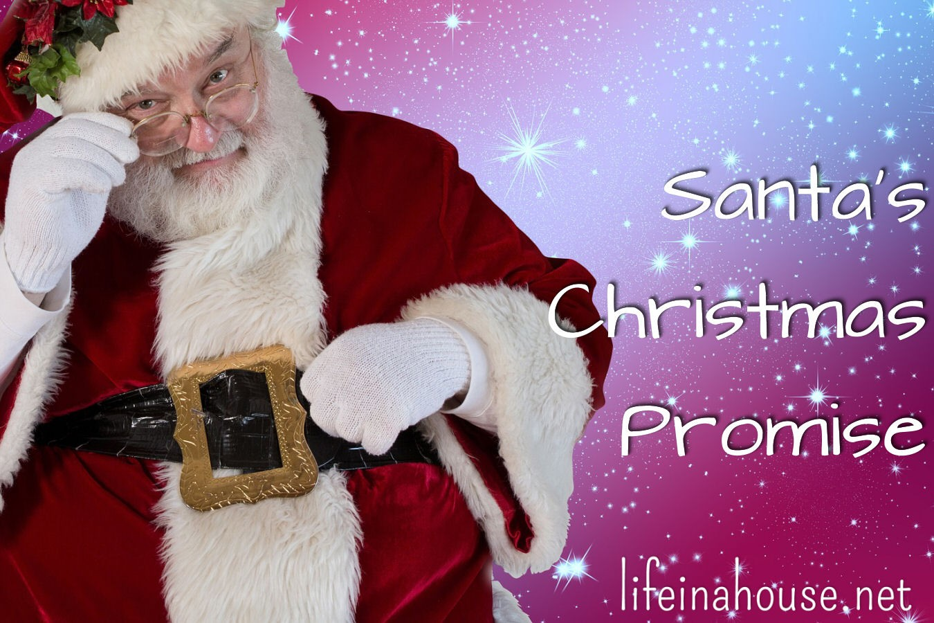 Santa's Christmas Promise by Life in a House