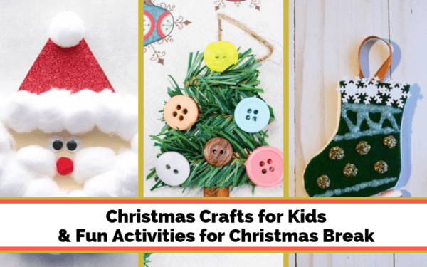 Week 205 - Christmas Crafts for Kids from Worth Writing For
