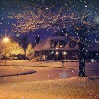 Midnight Snow Storm
