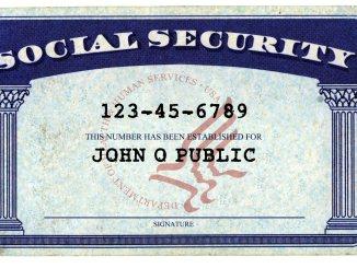 John Q Public Social Security Card