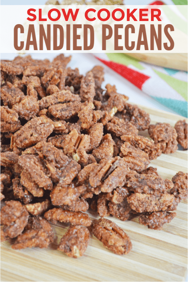 Week 208 - Slow Cooker Candied Pecans from Wonder Mom Wanna Be