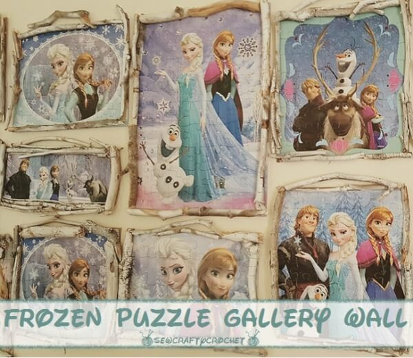 Week 210 - Frozen Wall Gallery from Sew Crafty Crochet
