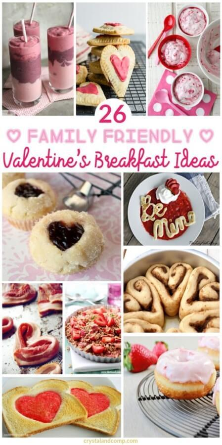 Week 211 - 26 Valentine's Day Breakfast Ideas from Crystal and Comp