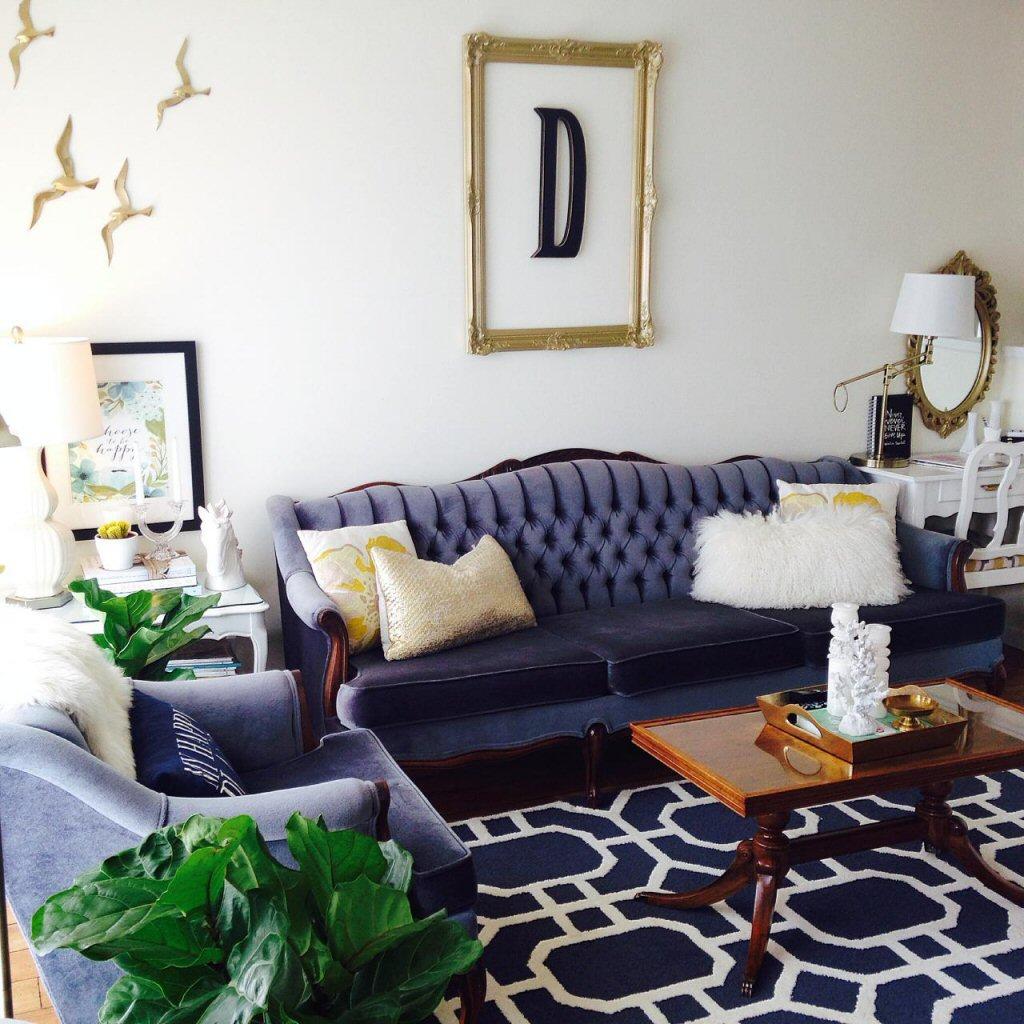 velvet and copper interior design trends