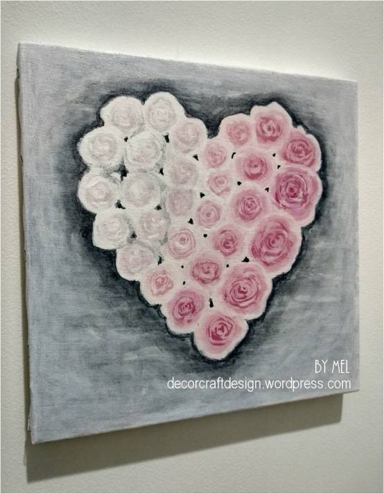 Week 212 - Rose of Love Painting from Decor Craft Designs