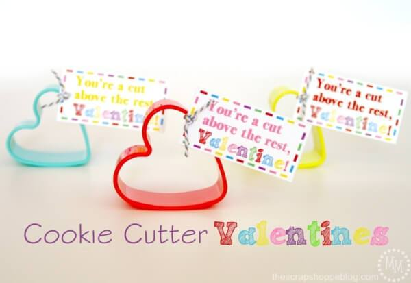 Week 213 - Cookie Cutter Valentines from The Scrap Shoppe