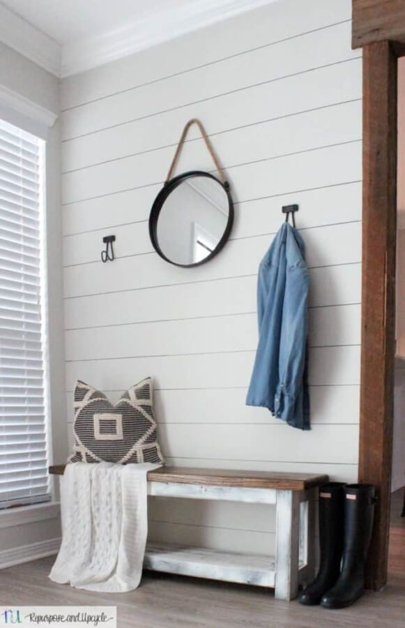 Week 215 - One Hour Entryway Makeover from Repurpose and Recycle