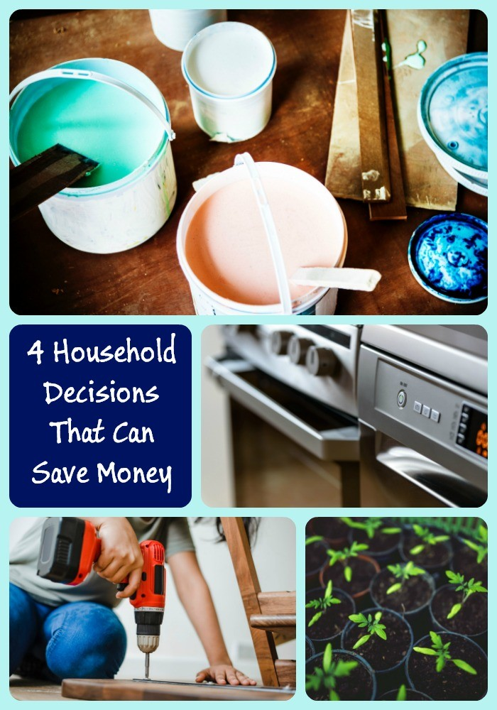 4 Household Decisions to Save You Money